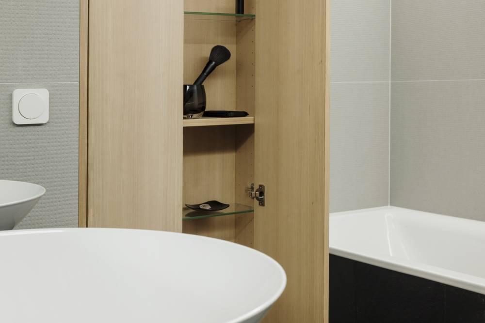 Holzmöbel Badezimmer-Individuelles Badeszimmer Wien-Badezimmer Planung Wien