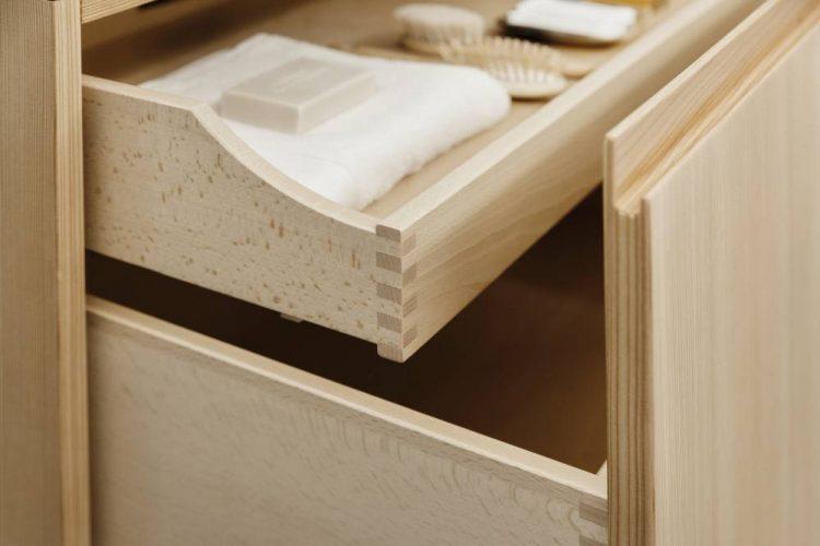Tischler gefertigte Badezimmermöbel Wien-Holz Badezimmermöbel Wien